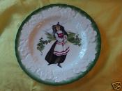 COLLECTIBLE  ALFRED MEAKIN PLATE