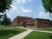 English: Deshler Elementary School (Previously Deshler High and Grade School)