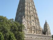 Maha Bodhi Temple, Bodhgaya, India. ไทย: วัดมหาโพธิ์ พุทธคยา ประเทศอินเดีย