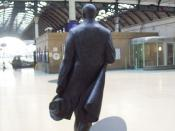 PHILIP LARKIN STATUE HULL