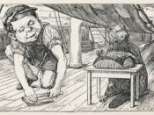 Third of Henry Holiday's original ilustrations to