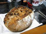 sourdough rye with walnuts