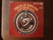 Dances Of Dowland - Julian Bream Lute Luit, RCA Victor SB-6751, LSC 2987