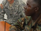 U.S. Army Africa: Liberia Security Sector Reform 090419