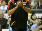 English: Australian basketball player/coach Al Westover