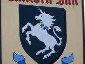 Sign for the Unicorn Inn, Heyshott - geograph.org.uk - 1337770