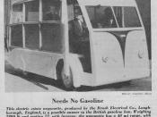 Brush Electric Bus