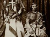 Little Coyote (Little Wolf) and Morning Star (Dull Knife), Chiefs of the Northern Cheyennes