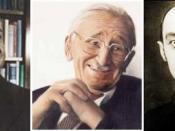 Ludwig von Mises, Friedrich von Hayek, and Joseph Schumpeter