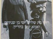 Affiche Israël 1982 birth control