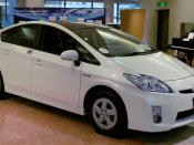 English: 3rd generation Toyota Prius G (2009/5 - ) 日本語: 3代目トヨタ・プリウス