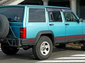 Jeep XJ Cherokee Sports ( Japan spec. )
