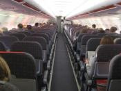 easyJet A319 Cabin