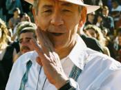 Deutsch: Ian McKellen bei der Weltpremiere des dritten Teils des Herrn der Ringe in Wellington (Neuseeland)