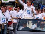 Sir Ian McKellen at Europride 2003 Parade