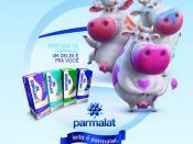 Parmalat - Peça de PDV