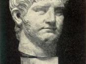 From the statue in Rome. The Emperor Nero.
