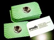 Armadillo Business Cards 2010