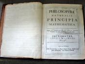 Isaac Newton's personal copy of the first edition of his Principia Mathematica, bearing Pepys's name