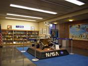 English: The Christa Corrigan McAuliffe Exhibit in the Henry Whittemore Library at Framingham State College (Framingham, Massachusetts, USA)