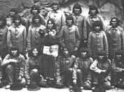 Hopi indians in 1889