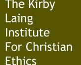 English: Logo for the Kirby Laing Institute for Christian Ethics