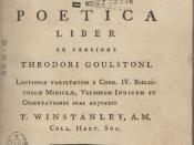 English: 1780 edition of The Poetics by Author:Aristotle