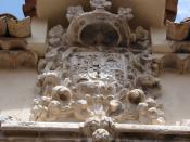 Español: Escudo del Palacio de los Goyeneche (Illana - Guadalajara)