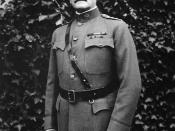 General John Pershing. General Headquarters, Chaumont France.