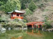 Located in Kyoto, Japan, Daigo-ji is the head temple of the Daigo-ha branch of Shingon Buddhism.