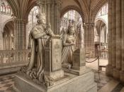 Memorial to King Louis XVI and Queen Marie Antoinette, sculptures by Edme Gaulle and Pierre Petitot