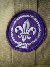English: Scout emblem on a Scout uniform