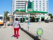 BP-Tankstelle Unionstraße 55