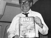 National Security Adviser Henry Kissinger expresses happiness at being chosen TIME Magazine's