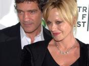Antonio Banderas y Melanie Griffith en 2010.