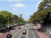 Parramatta Road, near its eastern end