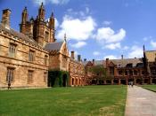 The University of Sydney, established in 1850, is the oldest university in Australia