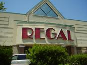 English: A Regal Entertainment theater in Pennsylvania