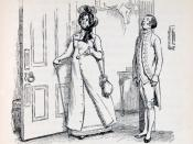 English: Image at the beginning of Chapter 56. Lady Catherine de Bourgh comes to visit Elizabeth. Austen, Jane. Pride and Prejudice. London: George Allen, 1894.