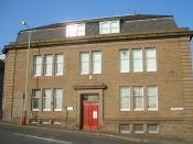 English: Constitution House, Dundee Originally opened on 13th September 1928 as the Dundee Public Health Institute (at a cost of £14,000). From 1928 to the late 1980s it was a clinic for VD (Sexually Transmitted Diseases) and Pulmonary Medicine. Locally k
