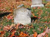 Grave of Dr. John Knotes 1790-1890 -- Mt. Pisgah Benevolence Cemetery Romney (VA)