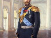 Nicholas II, Tsar of Russia: 1894-1917. Portrait by Ernest Lipgart.