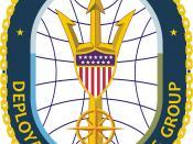English: Seal of the U.S. Coast Guard Deployable Operations Group