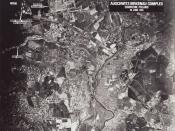 English: Aerial photograph of AuschwitzI, II and III. Category:Images of Auschwitz concentration camp