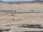 Borax Boron Open Pit Mine, Boron, California