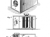 English: Page 1 of George Eastman's patent no. 388,850, for his film camera and roll film.