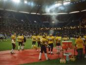 English: AOL Arena during an American Football Game