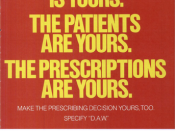 Drug companies use direct-to-prescriber advertising in an effort to convince prescribers to dispense as written with brand-name products rather than generic drugs.