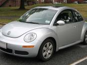 2006-2007 VW New Beetle photographed in College Park, Maryland, USA. Category:Volkswagen New Beetle