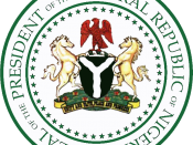 English: Seal of the President of Nigeria Category:National symbols of Nigeria